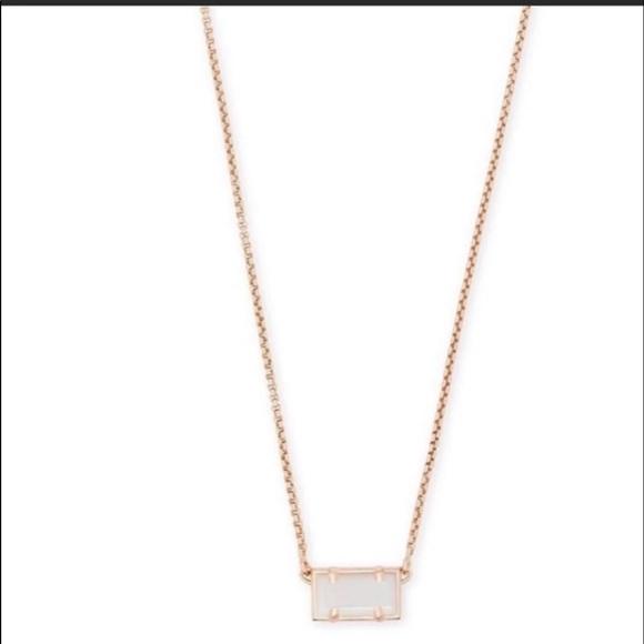 Kendra Scott Jewelry - NWT Kendra Scott Pattie RSG Necklace w/ WMOP
